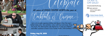 Crisis Center North Cocktails & Cuisine
